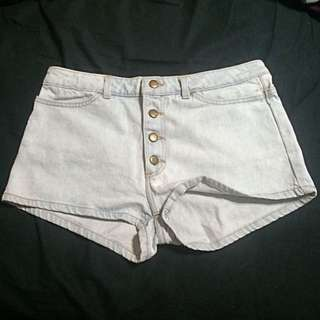 NEW American Apparel Button Front Shorts