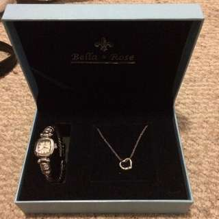 Necklace And Watch Set