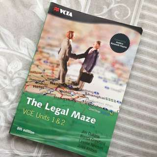 Legal studies Unit 1&2