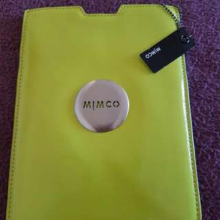 Green Cover Mimco Samsung Mini Ipad