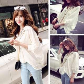 Korean Long Sleeves Shirt