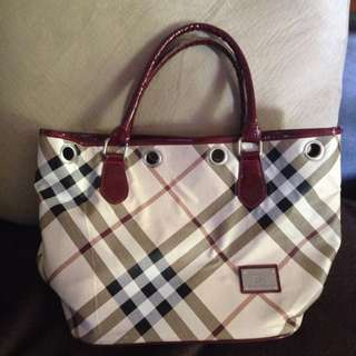"""Burberry"" Tote Bag"