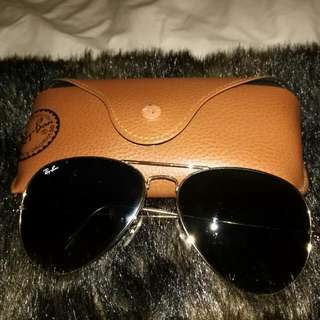 Ray Ban - Aviator Sunglasses Authentic