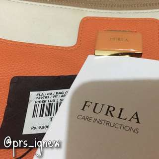 AUTHENTIC FURLA PIPER LUX HANDBAG