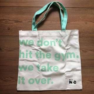 全新 包郵 Nike Tote Bag 帆布袋