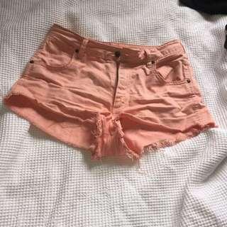Wrangler Cheeky High Shorts