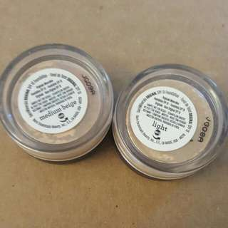 Bareminerals Foundation Samples