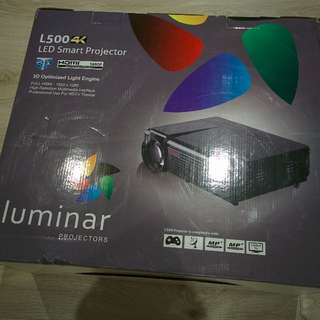 URGENT: Moving Sale! Home Theater Projector | Luminar L500 4k