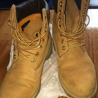 Timberlands US10.5 Men's