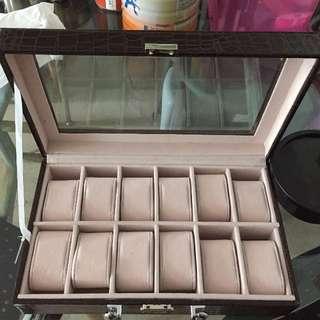 12 Slot Watch Box
