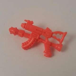 Vintage tmnt needlenose accessory detachable machine gun