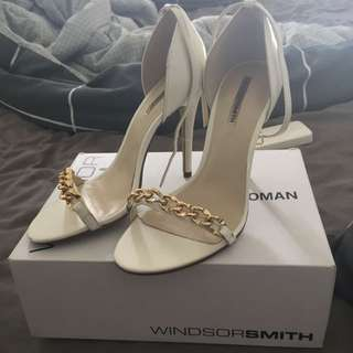 Windsor Smith Gold Chain Shoes
