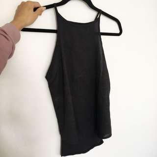 Mossman Cami Style Black Top