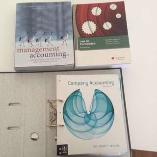 Accounting And Law Textbooks