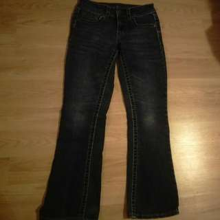 Warehouse ONE Contour Boot Cut Jean's Size 24