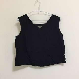 棉質無袖背心+褲子 套裝(不拆賣)