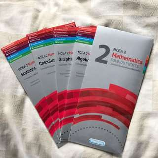 NCEA Level 2 Maths Fold Out Notes