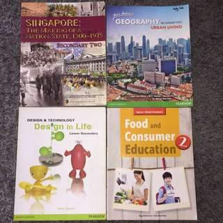 SECONDARY 2 TEXTBOOKS