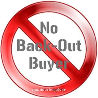 No Backout Buyer