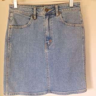 NEUW High waisted Denim Skirt