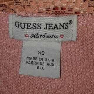 GUESS Cardigan Dusty Pink