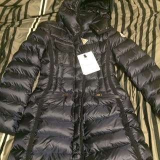 Moncler Hermine Down Jacket Navy Small
