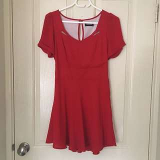 Red Revival Mini Dress