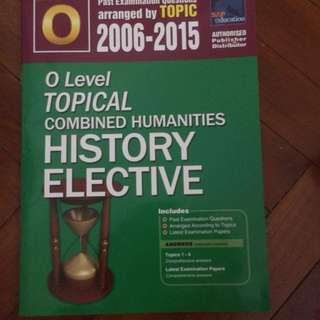 combined humanities elective history tys