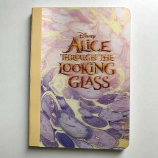 Alice Through The Looking Glass Notebook