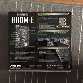 ASUS H110M-E Motherboard