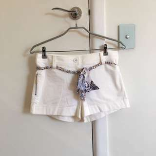 Forever New White Shorts Size 10