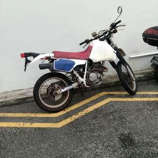 Old Skool Honda XR250