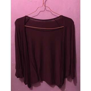 maroon outer