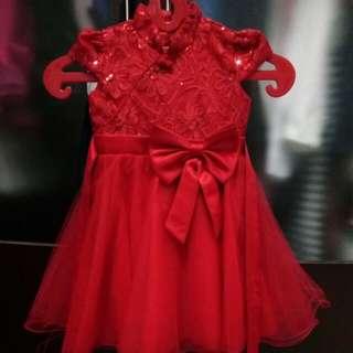 Dress Merah Anak