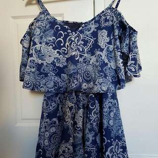 Fashion Hot Off Shoulder Playsuit