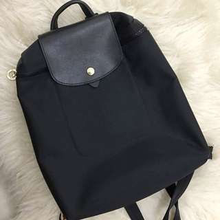 Longchamp Black Backpack