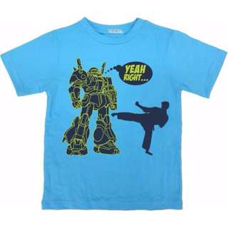 Robot vs Karate Kid Graphic Tee