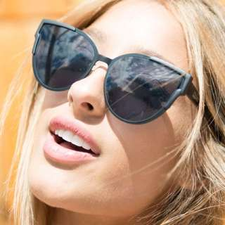 Quay Game On Sunglasses Matte Black