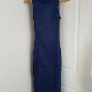 Turtle Neck Dress Sleeveless