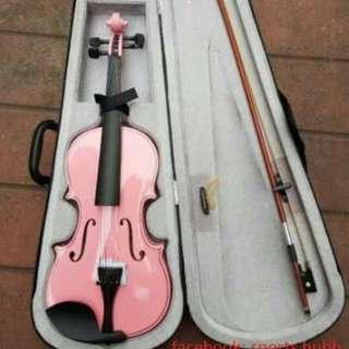 Violin Mozart 4/4 (pink)