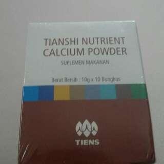 Peninggi Badan Tianshi Tiens Calcium Powder