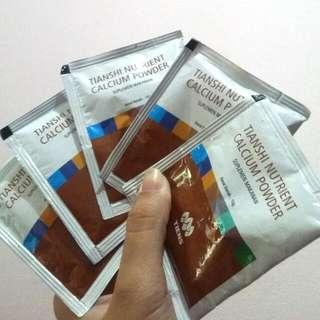 Peninggi Badan Calcium Tianshi Tiens
