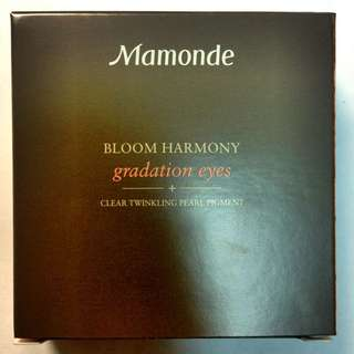 Mamonde 三色眼影