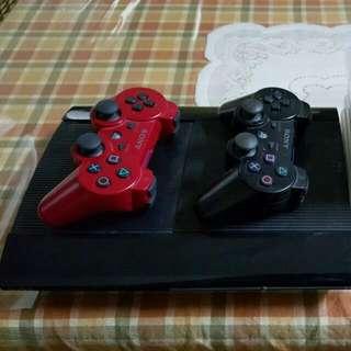 PS3 Play Station 3 500gb Slim Black