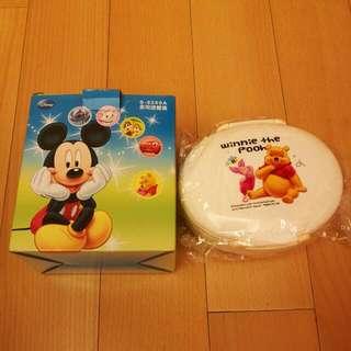 🚚 小熊維尼多用途餐盒 (股東會贈品)