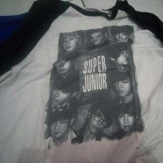 Kaos Super Junior Merk Ocean Seven