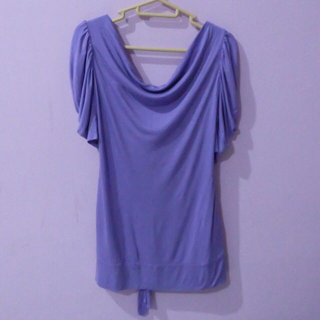 50K ONLY!! Guess Purple Top Backless