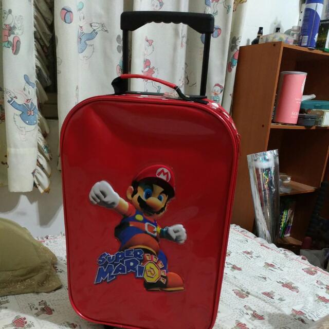 瑪莉歐輕旅行箱