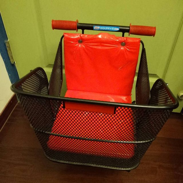 腳踏車加裝座椅