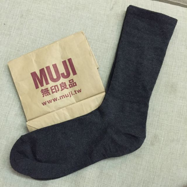 無印良品直角襪